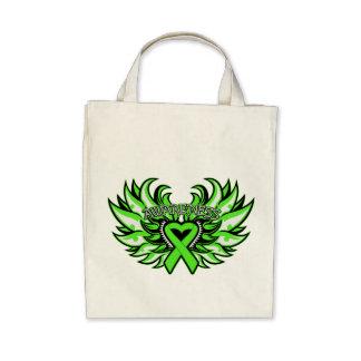 Lyme Disease Awareness Heart Wings.png Tote Bag