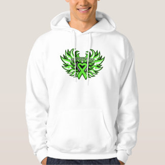 Lyme Disease Awareness Heart Wings.png Hoodie