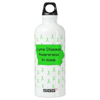 Lyme Disease Awareness in Iowa Water Bottle