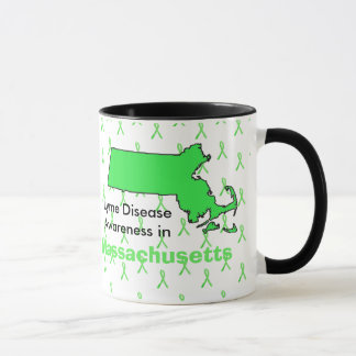 Lyme Disease Awareness in Massachusetts Coffee Mug