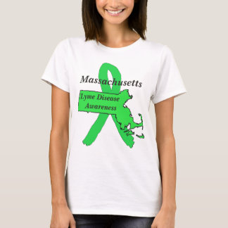 Lyme Disease Awareness in Massachusetts T-Shirt
