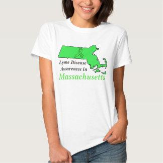 Lyme Disease Awareness in Massachusetts T Shirts