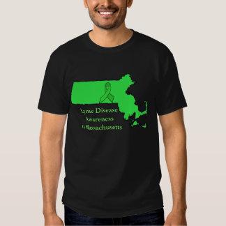 Lyme Disease Awareness in Massachusetts Tshirt