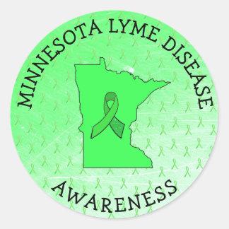 Lyme Disease Awareness in Minnesota Stickers