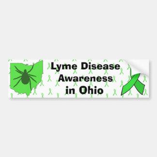 Lyme Disease Awareness in Ohio Bumper Sticker
