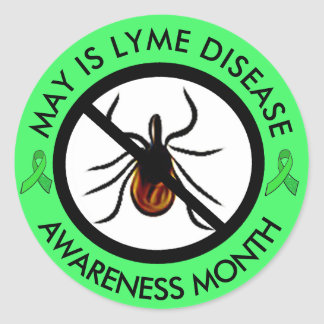 Lyme Disease Awareness Month Stickers