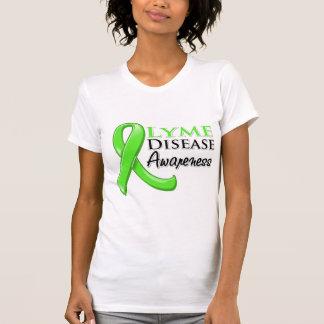 Lyme Disease Awareness Ribbon T Shirt