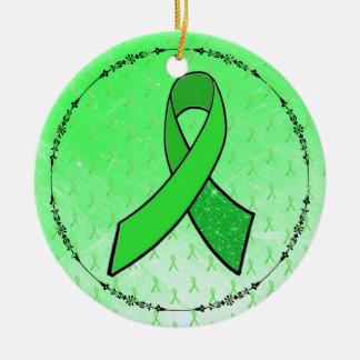 Lyme Disease Awareness Ribbons Ornament