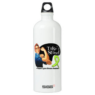 Lyme Disease Awareness Take a Stand SIGG Traveller 1.0L Water Bottle