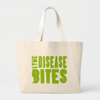 Lyme Disease Bites Canvas Bags