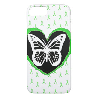Lyme Disease Butterfly and Awareness  Ribbons iPhone 7 Case