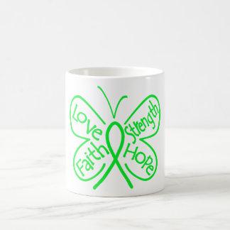 Lyme Disease Butterfly Inspiring Words Coffee Mugs