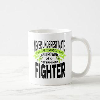 Lyme Disease Determined Fighter Basic White Mug