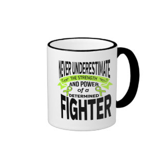 Lyme Disease Determined Fighter Ringer Mug