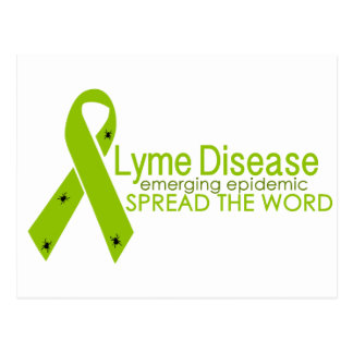 Lyme Disease - Emerging epidemic - Spread the word Post Cards