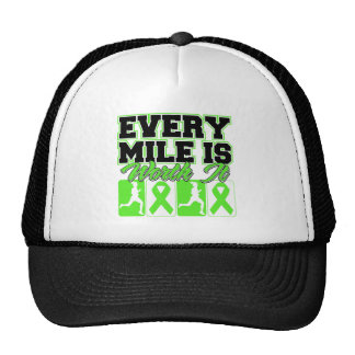 Lyme Disease Every Mile is Worth It Trucker Hats