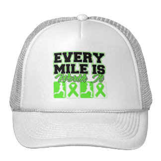 Lyme Disease Every Mile is Worth It Mesh Hats