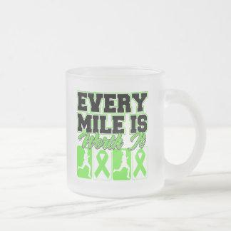 Lyme Disease Every Mile is Worth It Coffee Mugs