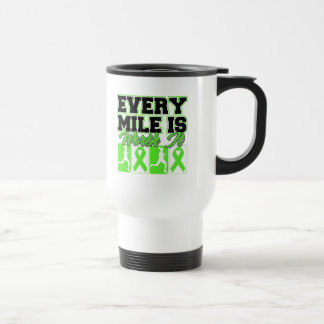 Lyme Disease Every Mile is Worth It Coffee Mug