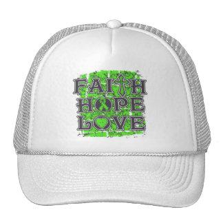 Lyme Disease Faith Hope Love Hats