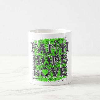 Lyme Disease Faith Hope Love Mugs