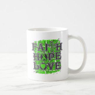 Lyme Disease Faith Hope Love Classic White Coffee Mug