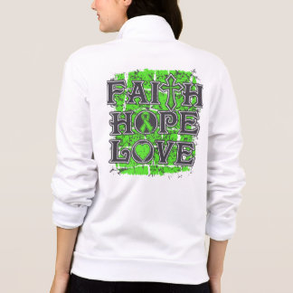 Lyme Disease Faith Hope Love Printed Jacket