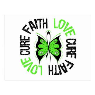 Lyme Disease Faith Love Cure Postcard