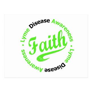 Lyme Disease Faith Postcard