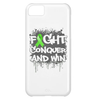 Lyme Disease Fight Conquer and Win Cover For iPhone 5C