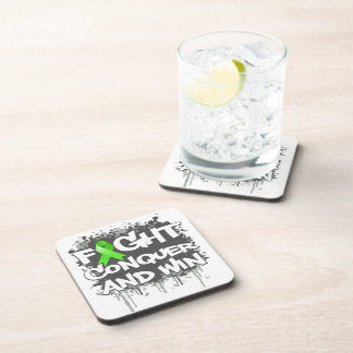 Lyme Disease Fight Conquer and Win Coaster