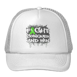 Lyme Disease Fight Conquer and Win Hat