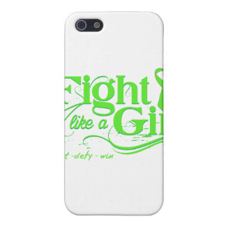 Lyme Disease Fight Like A Girl Elegant Cover For iPhone 5