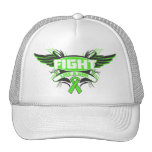 Lyme Disease Fight Like a Girl Wings.png Hats