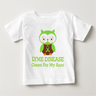 Lyme Disease Green For My Aunt Baby T-Shirt