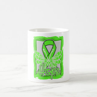 Lyme Disease Hope Butterfly Coffee Mugs