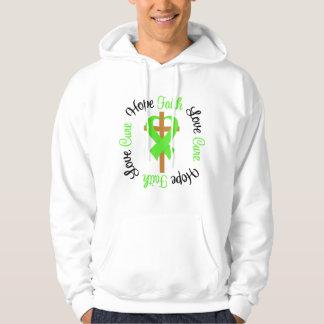 Lyme Disease Hope Faith Love Prayer Cross Sweatshirt