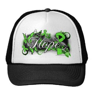 Lyme Disease Hope Garden Ribbon Hat