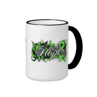 Lyme Disease Hope Garden Ribbon Coffee Mugs