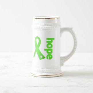 Lyme Disease Hope Ribbon Beer Steins
