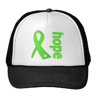 Lyme Disease Hope Ribbon Trucker Hats