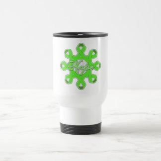 Lyme Disease Hope Unity Ribbons Coffee Mugs