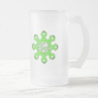 Lyme Disease Hope Unity Ribbons Coffee Mug