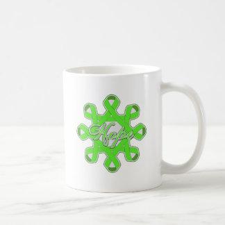 Lyme Disease Hope Unity Ribbons Mug