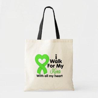 Lyme Disease I Walk For My Hero Bags