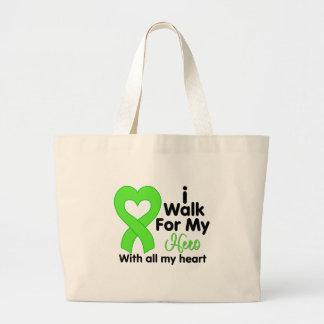 Lyme Disease I Walk For My Hero Tote Bag