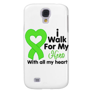 Lyme Disease I Walk For My Hero Galaxy S4 Cases