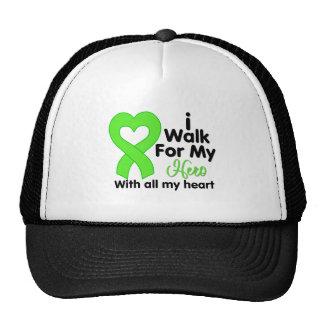 Lyme Disease I Walk For My Hero Mesh Hat