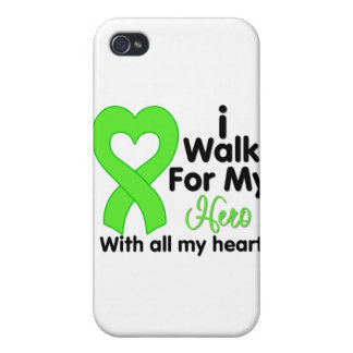 Lyme Disease I Walk For My Hero iPhone 4 Case
