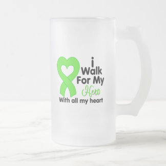Lyme Disease I Walk For My Hero Mugs